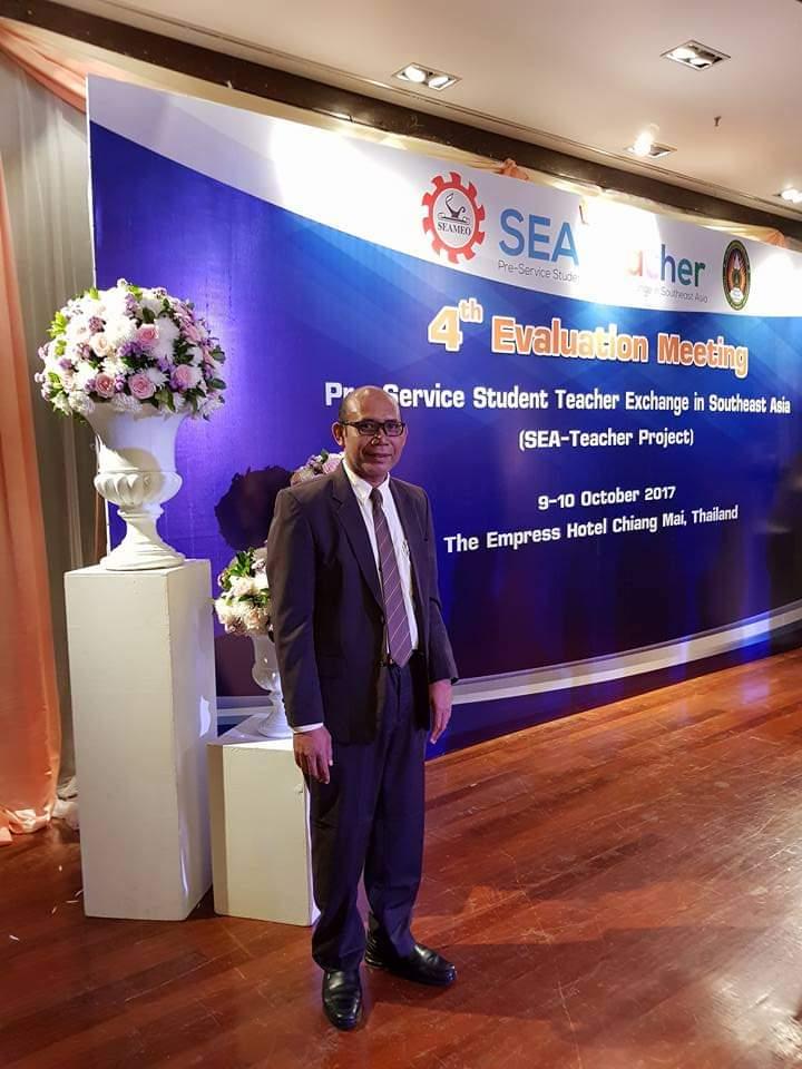 (Ketgam: Bakal Calon, Rektor UHO, Dr. H. Mohamad Salam, S.Pd., M.Si)