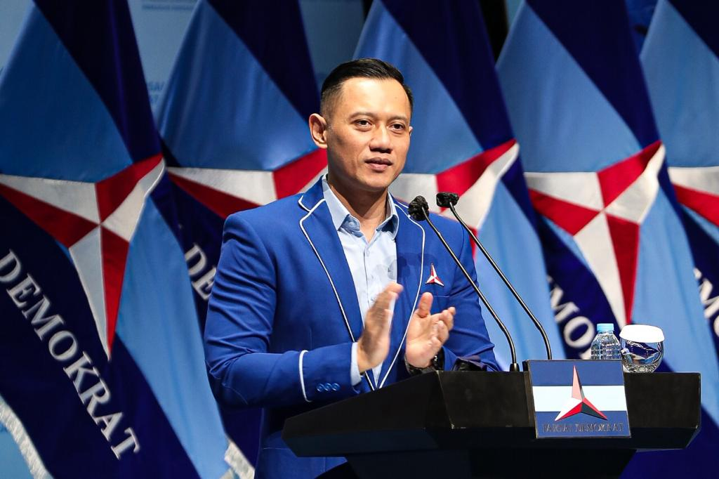 (Ketua Umum Partai Demokrat, Agus Harimurti Yudhoyono)
